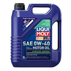 LIQUI MOLY 0W40 SYNTH OIL (5L)